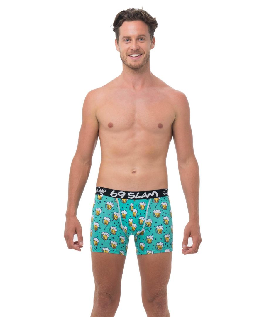 ARVO CHEERS BAMBOO FITTED FIT BOXER