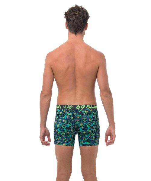 ALIEN SNAPS BAMBOO FITTED FIT BOXER