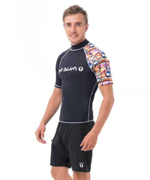 ROAD TRIP SHORT SLEEVES RASH VEST