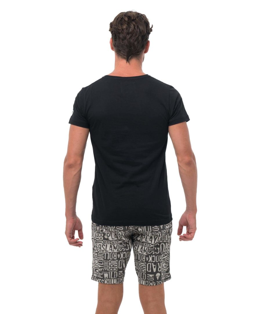 CITY CAT BLACK BE DIFFERENT COLLECTION SHORT SLEEVES T-SHIRT