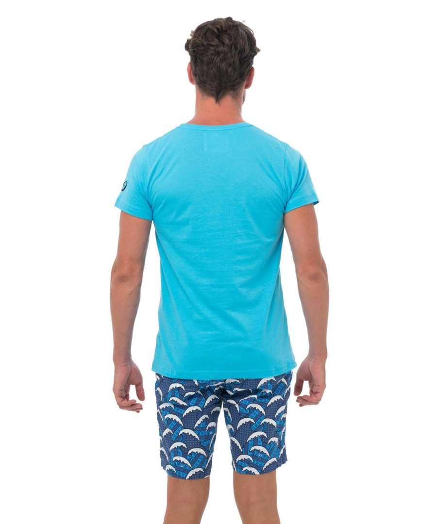 CITY CAT BLUE BE DIFFERENT COLLECTION SHORT SLEEVES T-SHIRT