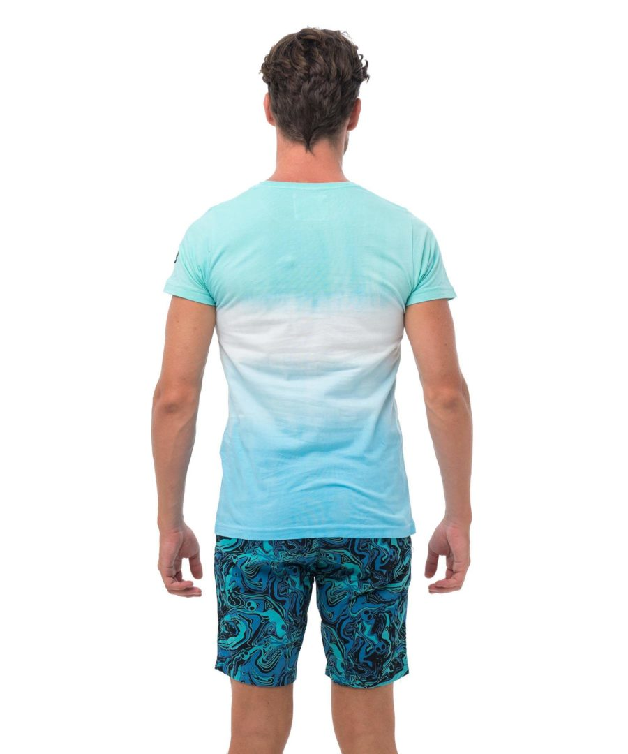 MINT ICE CREAM WHITE BE DIFFERENT COLLECTION SHORT SLEEVES T-SHIRT