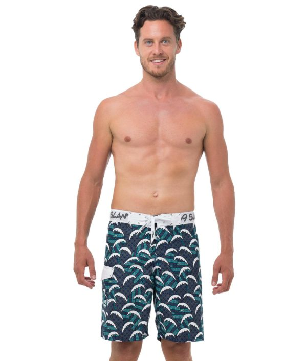 BATIK WAVE LONG LENGTH BOARDSHORT