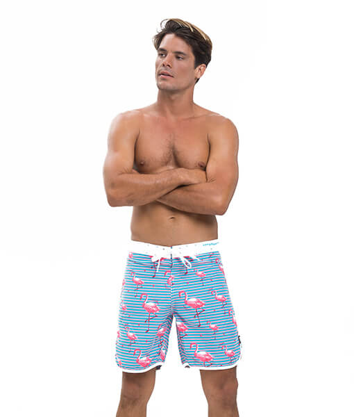 FLOCKS MEDIUM LENGTH BOARDSHORT