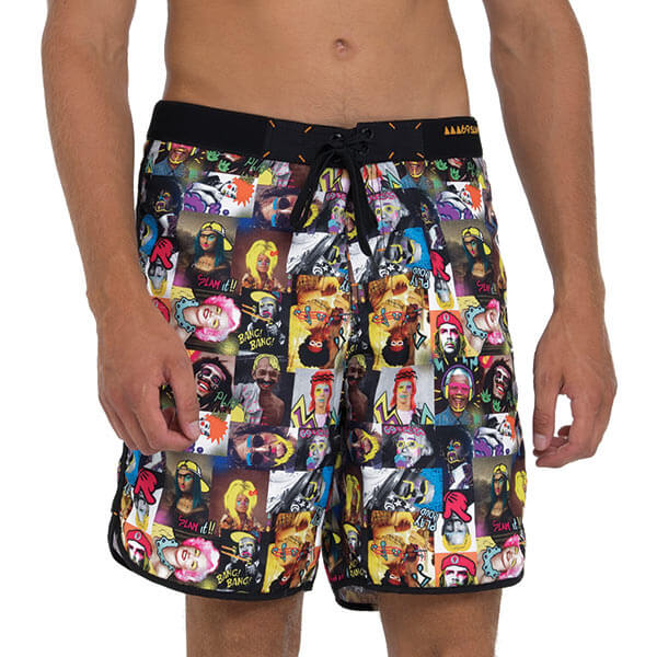 FAMOUS MEDIUM LENGTH BOARDSHORT