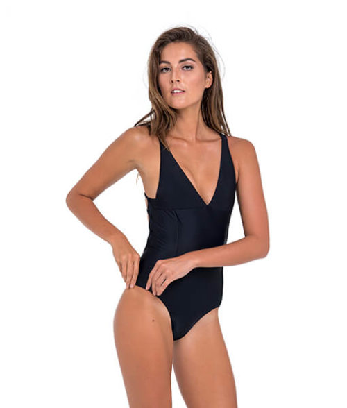 PLAIN BLACK TALLY ONE PIECE