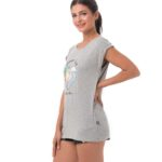 SUMMER LOVE GREY ELISA T-SHIRT