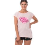 SUN OF A BEACH PINK ELISA T-SHIRT