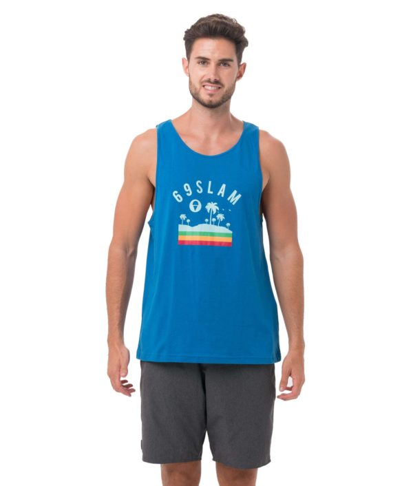 CLOUD NINE BLUE SINGLET