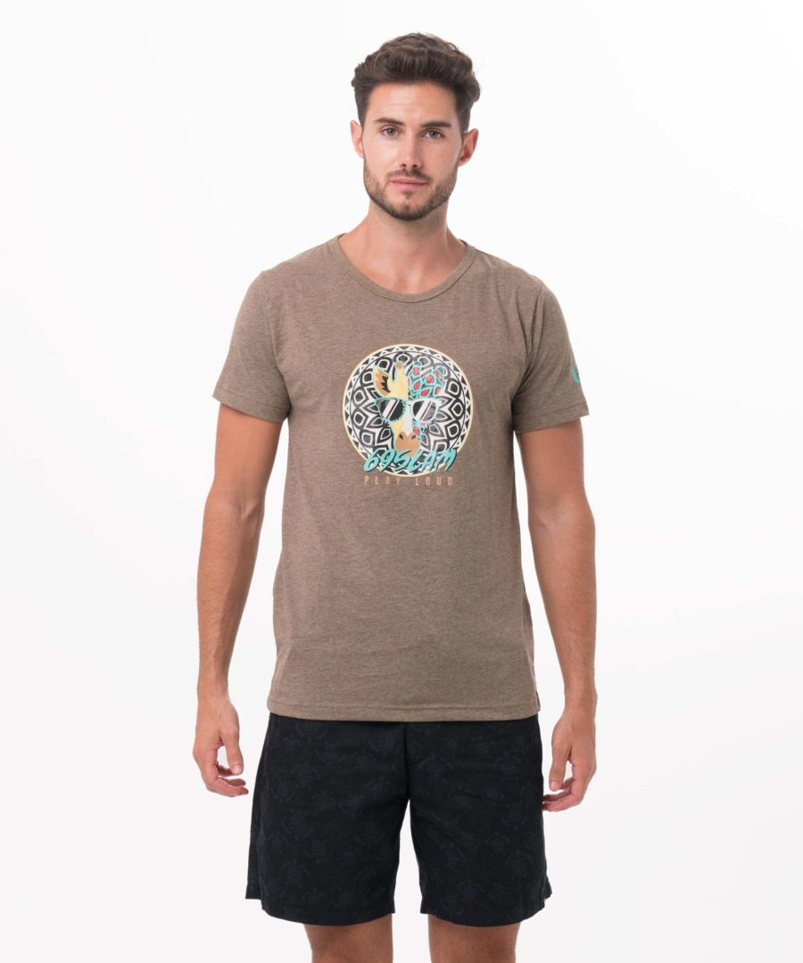 MR.GG GREEN BE DIFFERENT COLLECTION SHORT SLEEVES T-SHIRT