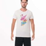 VACAY-GO! WHITE BE DIFFERENT COLLECTION SHORT SLEEVES T-SHIRT