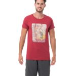 PLAYGAL RED BE DIFFERENT COLLECTION SHORT SLEEVES T-SHIRT