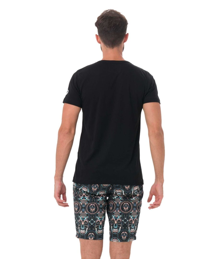 69 NORTH BLACK DNA COLLECTION SHORT SLEEVES T-SHIRT