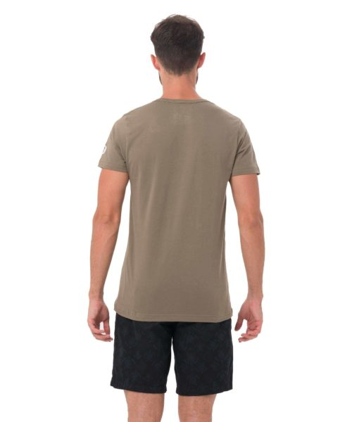 69 NORTH KHAKI DNA COLLECTION SHORT SLEEVES T-SHIRT