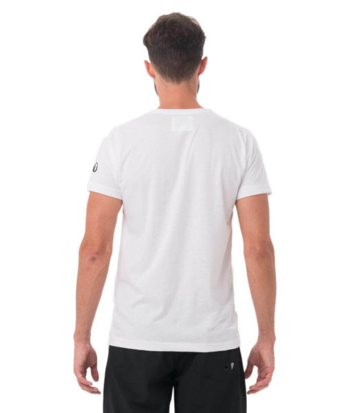 SIX NINE HANS RASH TEE PLAIN WHITE