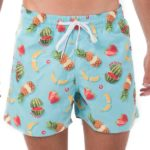 TROPICAL HARVEST SAMOA BOARDSHORT ELASTIC WAIS