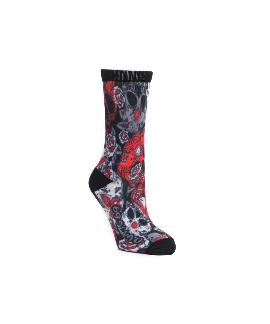 RED SUGAR CRANE SOCKS