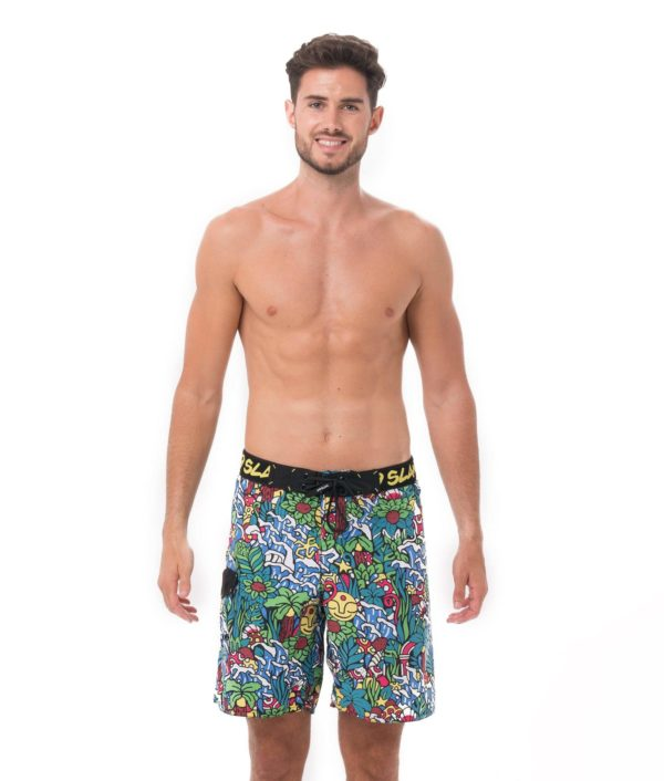 TROPICAMAZON LEVI BOARDSHORT LONG LENGTH