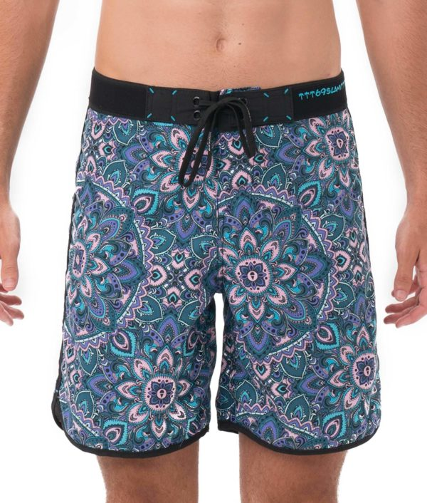 PASTEL MANDALA LUKE BOARDSHORT MEDIUM LENGTH