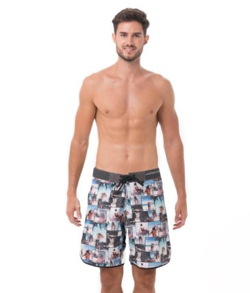 UNDER THE PALM LUKE BOARDSHORT MEDIUM LENGTH